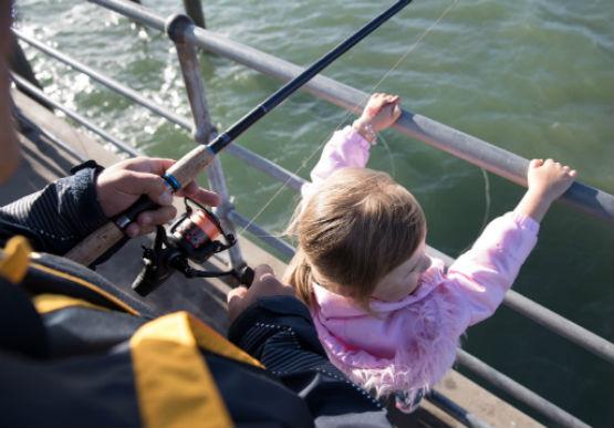 Recreational Fishing family